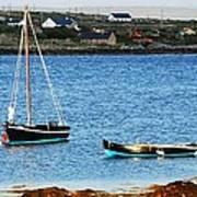 Connemara Boats Art Print