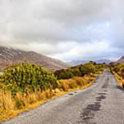 Connemara Roads - Irish Landscape Art Print by Mark Tisdale