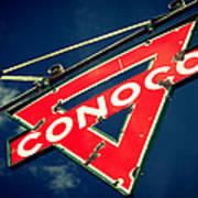 Conoco Art Print