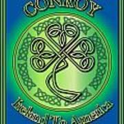 Conroy Ireland To America Art Print