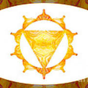Conscious Spirituality Abstract Chakra Art By Omaste Witkowski Art Print