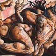 Consciousness Raped By Ego Art Print