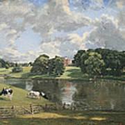 Constable's Wivenhoe Park In Essex Art Print