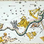 Constellation: Hydra Art Print