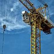Construction Crane Asia Art Print