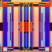 Constructive Color Art Print