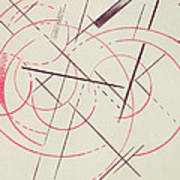 Constructivist Composition, 1922 Art Print