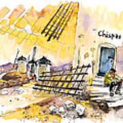 Consuegra 01 Art Print