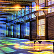 Containment Facility Art Print
