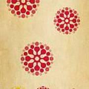Contemporary Dandelions 1 Part 1 Of 3 Art Print