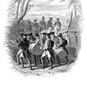 Continental Army Band Art Print