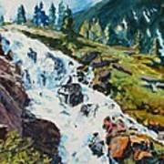 Continental Falls Art Print