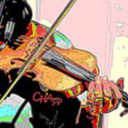 Contorno Fiddle II Art Print