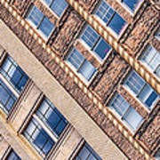 Contrasts - Period Architecture Of Asheville North Carolina Art Print by Mark E Tisdale