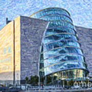 Convention Centre Dublin Republic Of Ireland Art Print