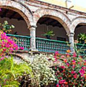 Convento De La Popa Cartagena Art Print