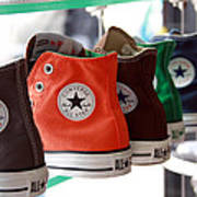 Converse Star Sneakers Art Print