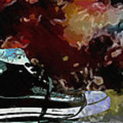 Converse Sports Shoes Art Print