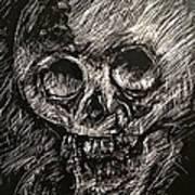 Convulsed Memento Mori  Art Print