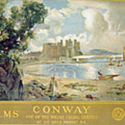 Conway Castle Art Print