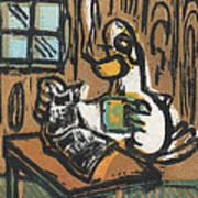 Cooked Goose Art Print by Mathew Luebbert