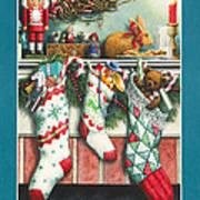 Cookies For Santa Art Print
