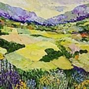 Cool Grass Art Print