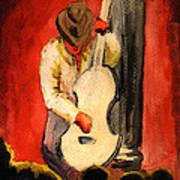 Cool Jazz Served Hot Art Print