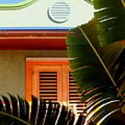 Cool Tropics Art Print by Karen Wiles