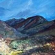Coolin From Sligachan - Skye Art Print
