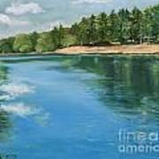 Cooling Waters Art Print