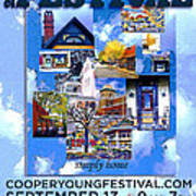 Cooper Young Festival Poster 2008 Art Print