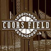 Coors Field - Colorado Rockies 15 Art Print by Frank Romeo