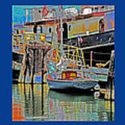Coos Bay At Berth Art Print