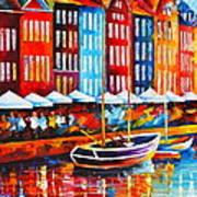 Copenhagen Denmark 2 Art Print