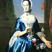 Copley's Anne Fairchild Bowler -- Mrs. Metcalf Bowler Art Print