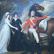 Copley's Colonel William Fitch And His Sisters Sarah And Ann Fitch Art Print