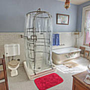 Copper King Victorian Bathroom - Butte Montana Art Print