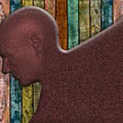 Copper Man Art Print
