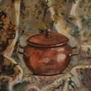 Copper Pot Art Print