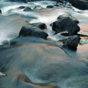 Copper Stream 1 Art Print