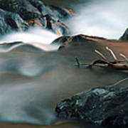 Copper Stream 2 Art Print
