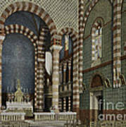 Coptic Church, Cairo, Egypt, 1906 Art Print by Getty Research Institute