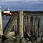 Coquille Lighthouse Oregon 3 Art Print