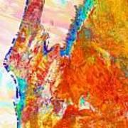 Coral Bay And Ningaloo Art Print