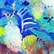 Coral Reef Dreams 3 Art Print