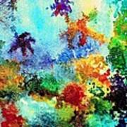 Coral Reef Impression 13 Art Print