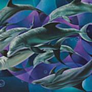 Corazon Del Mar  Art Print