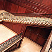 Corcoran Gallery Staircase Art Print