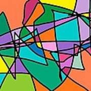 Corell Tiles Art Print